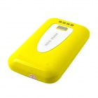 "ZY-206 ""8400mAh"" Mobile External Power Source Battery Charger for iPhone / Samsung + More - Yellow"
