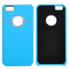 Protective Plastic Back Case for Iphone 5C - Blue