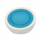 2-in-1 Mini Universal Standard Wireless Charger w/ Holder Stand - Blue + White