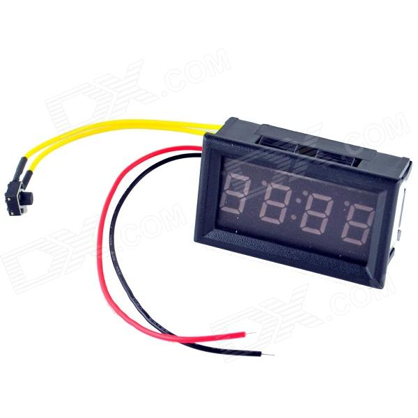 YB27T 0.4 Blue LED Electronic Clock - Black (DC 4.5~30V) power supply for pwr 7200 ac 34 0687 01 7206vxr 7204vxr original 95%new well tested working one year warranty
