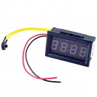 "YB27T 0.4"" Blue LED Electronic Clock - Black (DC 4.5~30V)"
