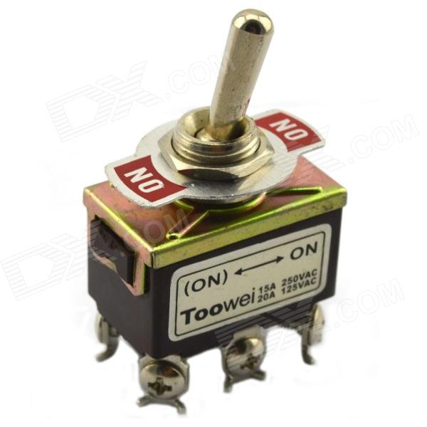 Jtron 04020029 Button Switch - Brown (125~250V)