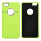 Protective Plastic Back Case for Iphone 5C - Green