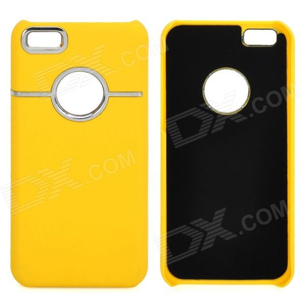 Protective Plastic Back Case for Iphone 5C - Yellow