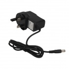 SingFire UK2-85525 5.5 x 2.5mm UK Plug Power Adapter - Black (116cm / AC 100~240V )