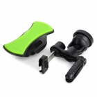 Portable Universal 360 Degree Rotation Car Air Vent Holder for Cell Phone - Black + Green