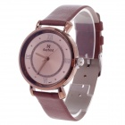 Daybird 3803 Fashionable Women's Quartz Analog Wrist Watch - Brown + Coffee (1 x LR626)
