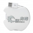 Universal Qi Standard Mobile Wireless Charger Transmitter for Nokia 920 / Nexus4 + More - White