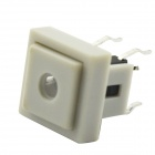 Jtron Light Touch Switches w/ Red Light - White (10 PCS)