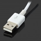 Micro USB to USB Data Charging Cable for Samsung S4, S3 - White(195cm)