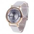 Daybird 3803 Fashionable Women's Quartz Analog Wrist Watch - White + Golden (1 x LR626)