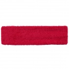 Sports Yoga Microfiber Elastic Hair Band - Red