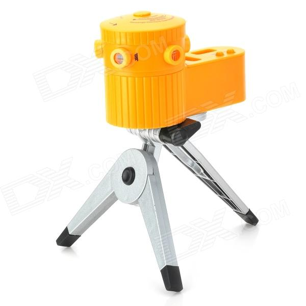 8-Function Laser Level with Tripod - Random Color holding the line