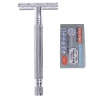 RI MEI A2001 Multi-Function Stainless Steel Shaver Razor - Silver