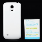"Replacement 3.8V ""6300mAh"" Decoded Thicken Battery w/ White Back Case for Samsung i9190"