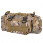 Kaifula Multifunction Outdoor Sports Oxford Waist / Shoulder Bag / Handbag - Camouflage