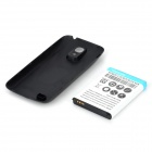 "Replacement 3.8V ""6300mAh"" Decoded Thicken Battery w/ Black Back Case for Samsung i9190"