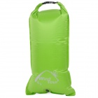 WindTour 01329312 Outdoor Waterproof PVC Drifting Bag / Pillow - Green (22L)