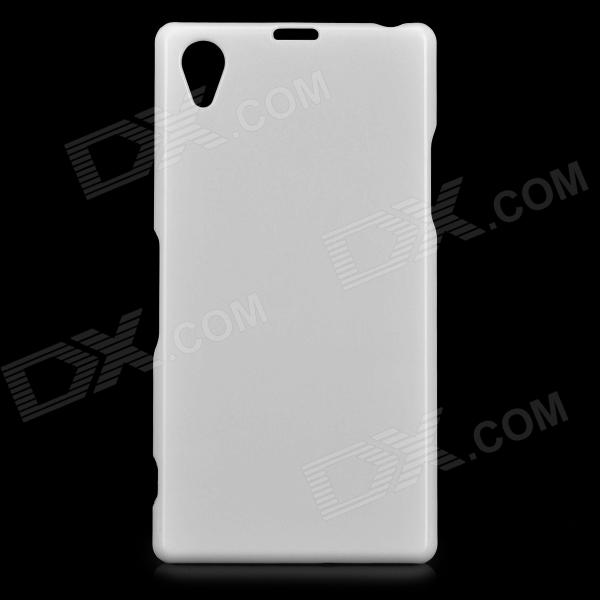 Protective Plastic Back Case for Sony Xperia Z1 L39h - White - Free ...