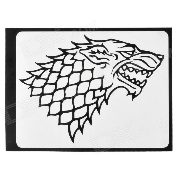 Stylish Dragon Head Pattern Sticker for Apple Macbook 11