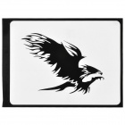 "Stylish Phoenix Pattern Sticker for Apple Macbook 11"" / 13"" / 15"" / 17"" - Black"