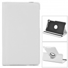 360 Degree Rotation Protective  PU Leather Holder Case for Google Nexus 7 II - White