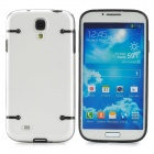 Glow-in-the-Dark Protective Plastic Back Case for Samsung Galaxy S4 i9500 - Black + Transparent