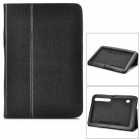 Protective PU Case w/ Stand for Samsung P7510 / P7500 - Black