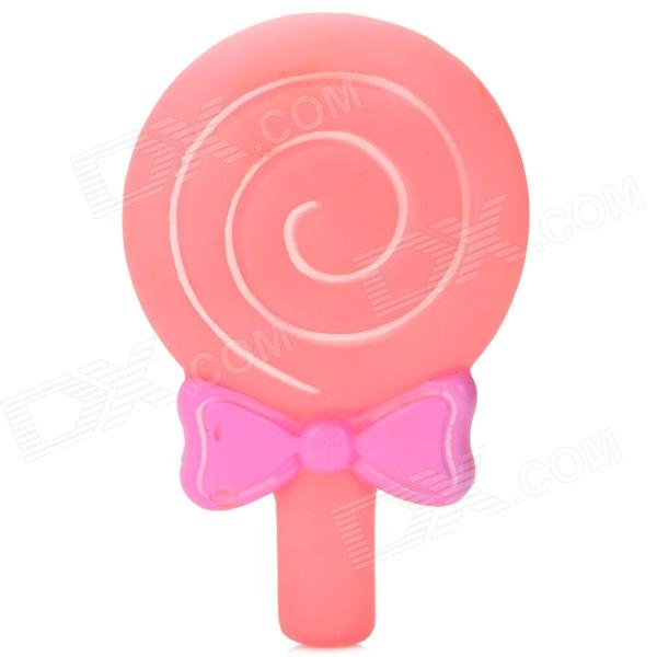 Decorative Suction Cup Lollipop Style Sticker for Cellphone - Pink + White + Purple