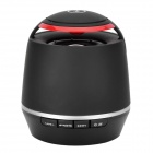 S-05 Stylish Portable Bluetooth v3.0 Speaker w/ Microphone / TF - Black + Red