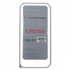 Vogue Ultra-thin Protective Aluminum Alloy Bumper Frame for Iphone 5C - Silver