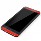 "S6 MTK6589T Android 4.2 Quad-Core WCDMA Bar Phone w/ 5"", Wi-Fi, GPS, FM, ROM 16GB - Red + Black"