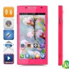 "CUBOT C10 + Dual-Core Android 4.2.2 GSM Phone w / 4,5 ""-Bildschirm, Wi-Fi, GPS und Quad-Band - Deep Pink"