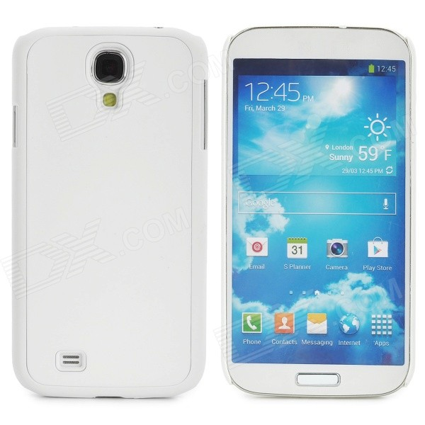 Protective Plastic Back Case for Samsung Galaxy S4 i9500 - White protective plastic case for samsung galaxy s4 i9500 white