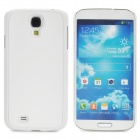 Protective Plastic Back Case for Samsung Galaxy S4 i9500 - White