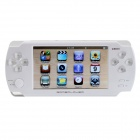 "JXD A1000 4.3"" LCD 2.0 MP Game Console w/ 360-Degree Joystick Control - White"