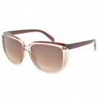 FD720 Fashion Brown Resin Lens UV400 Protection Sunglasses - Brown