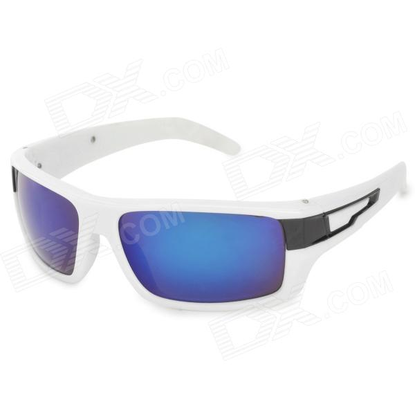 Arriette 2054 Fashion Blue REVO PC Lens UV400 Protection Sunglasses - White