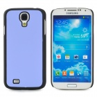 Protective Plastic Back Case for Samsung Galaxy S4 i9500 - Purple + Black