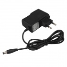 SingFire EU Plug Power Adapter DC5.5 x 2.5mm - Black (116cm / AC 100~240V )