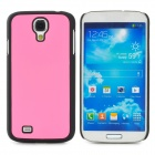 Protective Plastic Back Case for Samsung Galaxy S4 i9500 - Pink + Black
