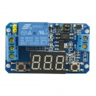 Jtron 2.2 x 1.3 x 0.3cm LED 3-Digital-Cycle Delay Module - blau (12V)