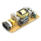 Power Supply Board Module for LCD Monitor - Green + Yellow (DC 12 / 5V)
