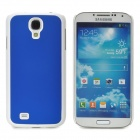 Protective Plastic Back Case for Samsung Galaxy S4 i9500 - Blue + White