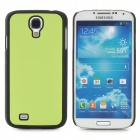 Protective Plastic Back Case for Samsung Galaxy S4 i9500 - Green + Black