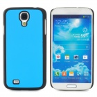 Protective Plastic Back Case for Samsung Galaxy S4 i9500 - Blue + Black