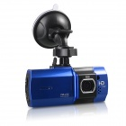 "AT550 1080P 2.7"" TFT LCD 5.0MP Wide Angle Lens Car DVR w/ HDMI / G-sensor / TF - Black+Green"