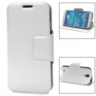 Protective PU Leather Case for Samsung Galaxy S4 i9500 - White