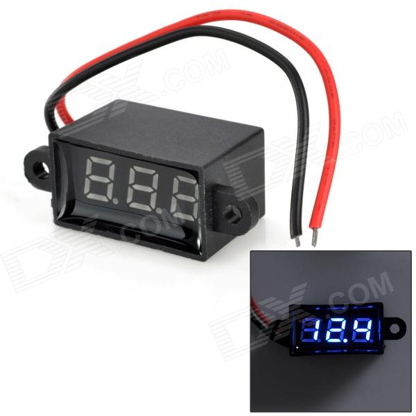Jtron 0.28 3-Digital Two-Line Voltmeter - Black (3.50~30.0V) cs 10 spectral colorimeter highest precision colorimeter color measuring device