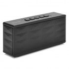 SP-2S Bluetooth V3.0 + EDR Stereo Speaker w/ Microphone / Micro USB / 3.5mm for Iphone 5 - Black